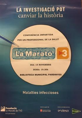 La Marató tv3 - Malalties infeccioses