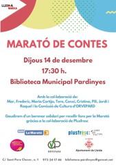 marato de contes a la biblio pardinyes