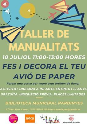 taller avions de paper