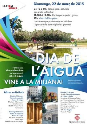 El Museu de l'Aigua commemora el Dia Mundial de l'Aigua