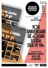 """10è aniversari de l'edició de """"Quan Lleida era Ye-Yé"""""""