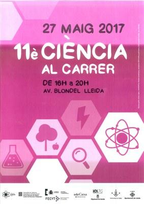 11ª edició de Ciència al carrer