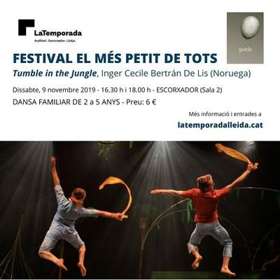15è Festival El Més Petit de Tots! torna a la Sala 2 del Teatre de l'Escorxador