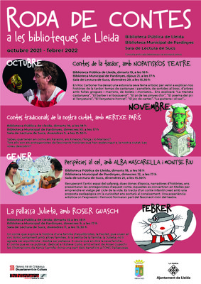 """""""Roda de contes"""" a les biblioteques de Lleida"""