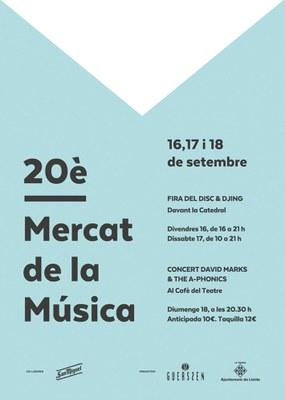 20è Mercat de la Música a Lleida