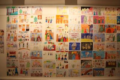 268 dibuixos presentats al XVIII Concurs de Dibuix dels Reis Mags de Lleida i 15 treballs presentats al XVII Concurs literari dels Reis Mags