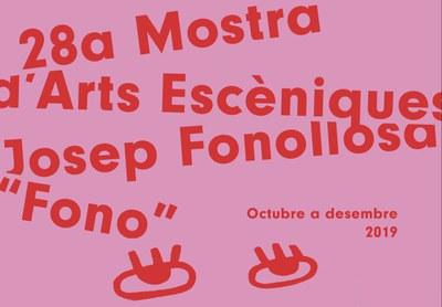 """27 companyies lleidatanes participaran a la 28a Mostra d'Arts Escèniques Josep Fonollosa, """"Fono"""""""