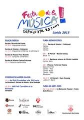 9ena Festa de la Música a Lleida