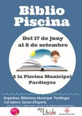 A partir d'avui fins al setembre: BIBLIOPISCINA a la Piscina Municipal de Pardinyes