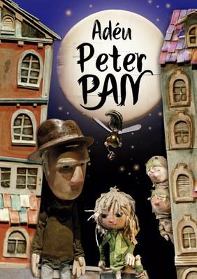 ADÈU, PETER PAN, Un conte per gaudir-lo amb tota la família aquest dissabte al teatre de l'Escorxador