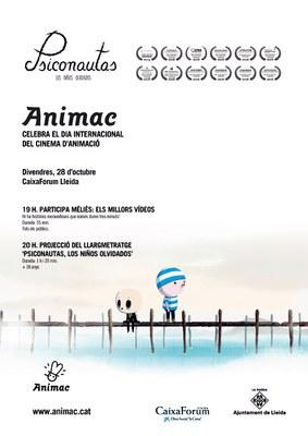 "ANIMAC celebra el Dia Internacional del Cinema d'Animació amb ""PSICONAUTAS"""