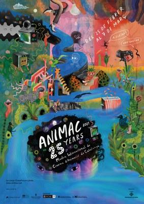 Animac presenta el cartell de la seva 25a edició obra de l'artista Gina Thorstensen