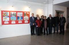 Avui al migdia s'ha inaugurat l'exposició del XIX Concurs de dibuixos dels Reis Mags