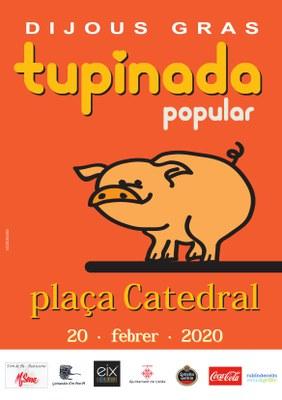 Avui comença el Carnaval amb la Tupinada Popular. No te la perdis!