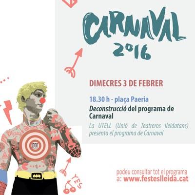 Avui comença el Carnaval!
