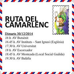 Avui el Gran Camarlenc comença la ruta!!