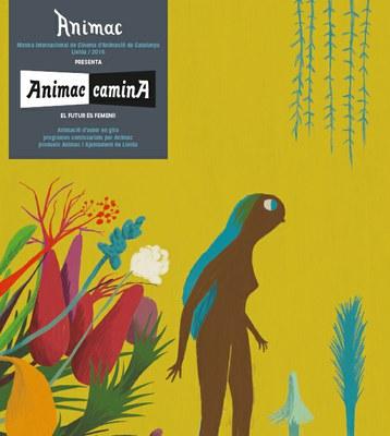 Cinema i animació amb Animac Camina a la plaça Esteve Cuito del Teatre Municipal de l'Escorxador