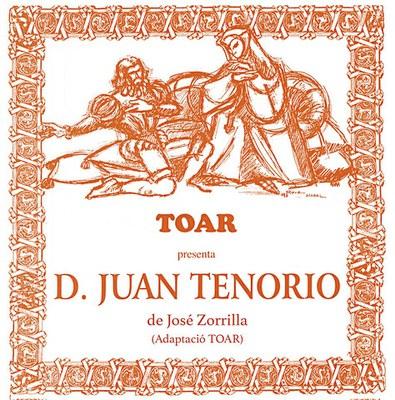 Com cada any per Tots Sants, l'Agrupació teatral Toar ens representarà Don Juan Tenorio al teatre de l'Escorxador