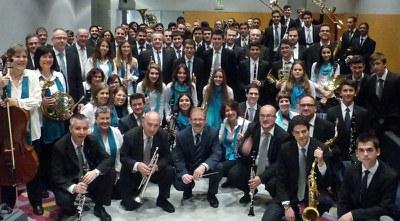 """Concert de Santa Cecília: """"Granados a banda"""" a càrrec de la Banda municipal de Lleida"""