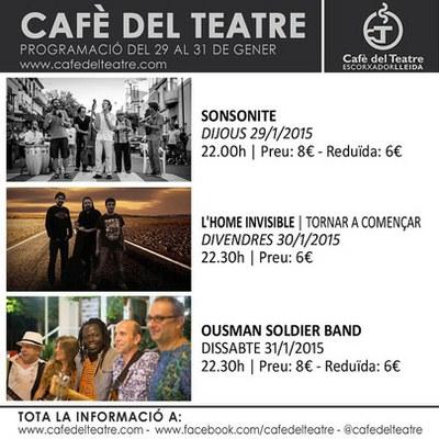 Concerts al Cafè del Teatre
