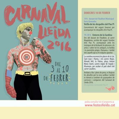 Darrer dia de Carnaval!