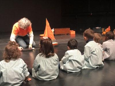 David Ymbernon ofereix un taller a tres escoles bressol de Lleida