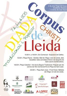 Diada Tradicional de Corpus a Lleida
