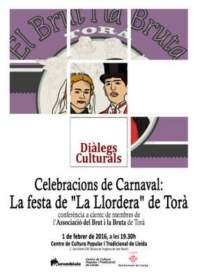 Diàlegs culturals al Centre de Cultura Popular i Tradicional de Lleida