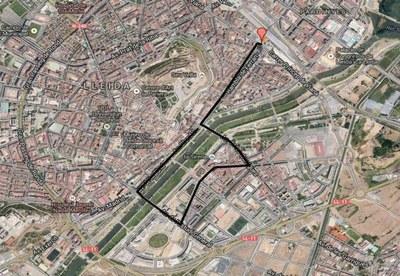 Dispositiu especial de seguretat i trànsit per a la Cavalcada de Reis 2017 a Lleida