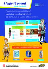 Edició d'estiu del concurs de lectura més esperat per infants i joves! Aconsegueix fantàstics premis llegint des de casa!
