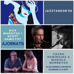 El Festival JazzTardor anuncia l'ajornament dels primers concerts previstos