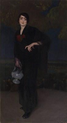 El Museu d'Art Jaume Morera adquireix l'obra La castiza de Baldomer Gili Roig