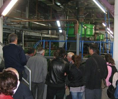 El Museu de l'Aigua visitarà la central hidroelèctrica de Seròs