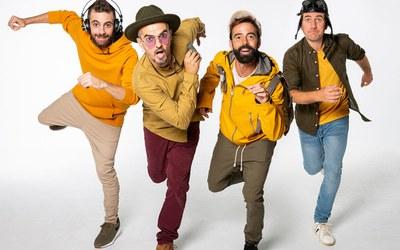 """El pop rock del grup revelació XIULA arriba aquest dissabte amb l'espectacle """"Dintríssim"""" als concerts familiars de l'Orfeó lleidatà a l'Auditori Enric Granados"""