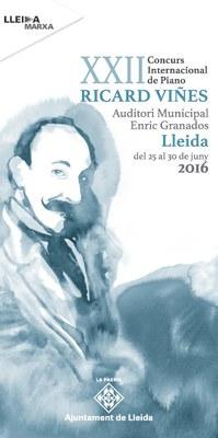 El premi especial a la millor interpretació del repertori d'Enric Granados, novetat del XXII Concurs Internacional de Piano Ricard Viñes