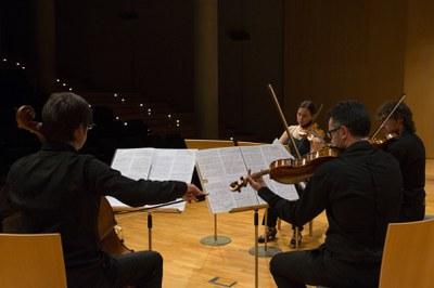 """El Quartet Teixidor interpretarà """"Si vera somnia"""" a l'Auditori municipal Enric Granados"""