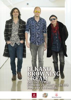 """Elkano Browning Cream presenta el seu cinquè àlbum de jazz """"Bor Bor"""" al Cafè del Teatre"""
