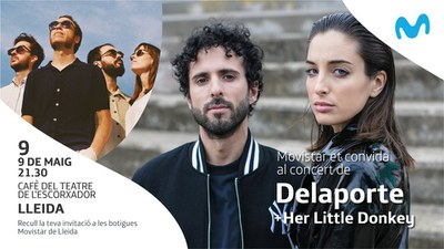 ESCENA! Movistar : DELAPORTE + HER LITTLE DONKEY
