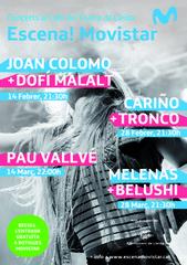ESCENA! Movistar «DOFí MALALT» i «JOAN COLOMO» al Cafè del Teatre