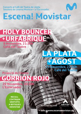 ESCENA! Movistar «HOLY BOUNCER + URFABRIQUE» al Cafè del Teatre