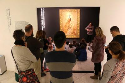 Èxit de participació del taller familiar de Nadal del Museu d'Art Jaume Morera