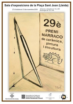 Visita guiada aquest diumenge 7 de novembre a l'exposició XXIX Premi Marraco de Ceràmica, Pintura i Escultura de les institucions penitenciàries