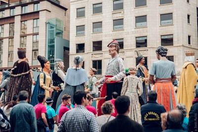 Fi de Festa! Trobada gegantera, Danses tradicionals, Parc de Somriures, Diada Castellera, Ball de Festa Major i Gran Castell de Focs