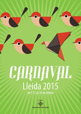 Ismael Martínez Plata autor del cartell CARNAVAL LLEIDA 2015