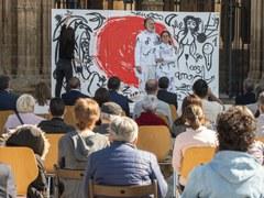 L'art i la cultura, protagonistes a la diada institucional de Sant Jordi