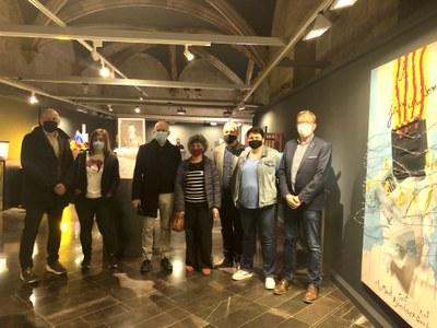 L'exposició col·lectiva itinerant '55 urnes per la llibertat' s'instal·la a la Zona Zero i l'Espai IX de l'IEI fins al 27 de juny