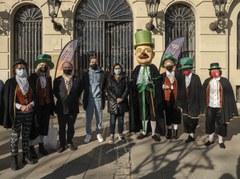 L'Home dels Nassos es deixa veure a Lleida