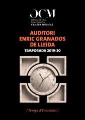 L'Orquestra Simfònica Camera Musicae presenta la seva segona temporada estable a l'Auditori municipal Enric Granados