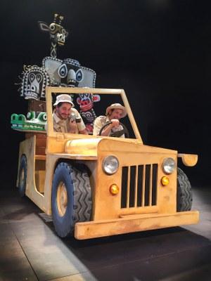 """La Baldufa presenta el seu espectacle """"Safari"""" al Teatre municipal de l'Escorxador"""