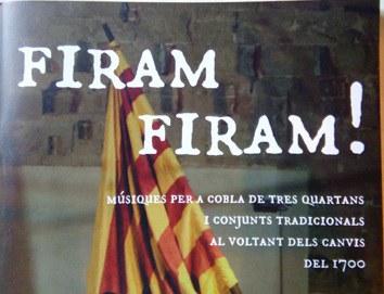 """la Biblioteca-Fonoteca de l'Auditori  presenta """"Firam, firam"""" recull musical del grup Quartana"""